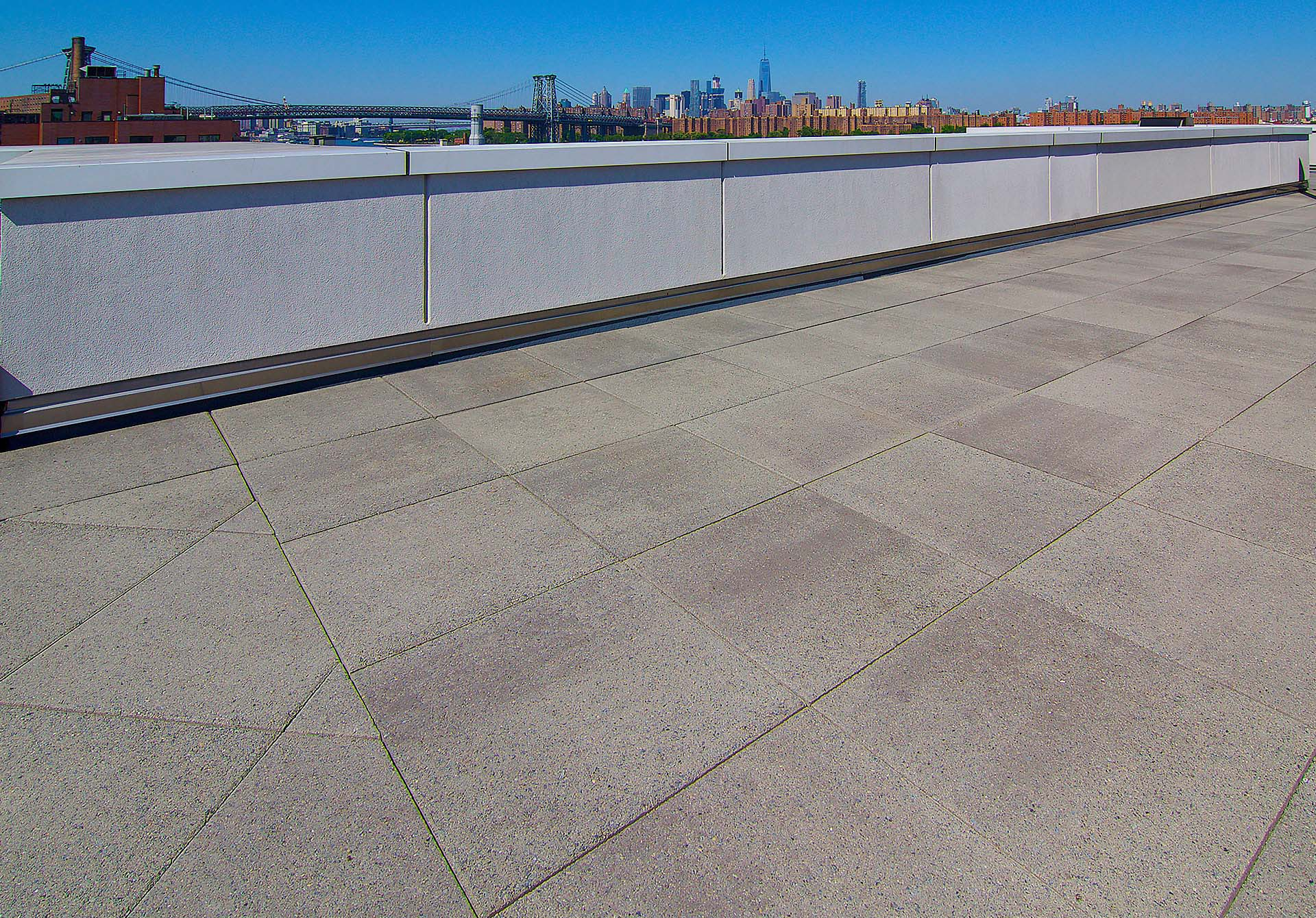 Commercial Textured Concrete Roof Deck Pavers