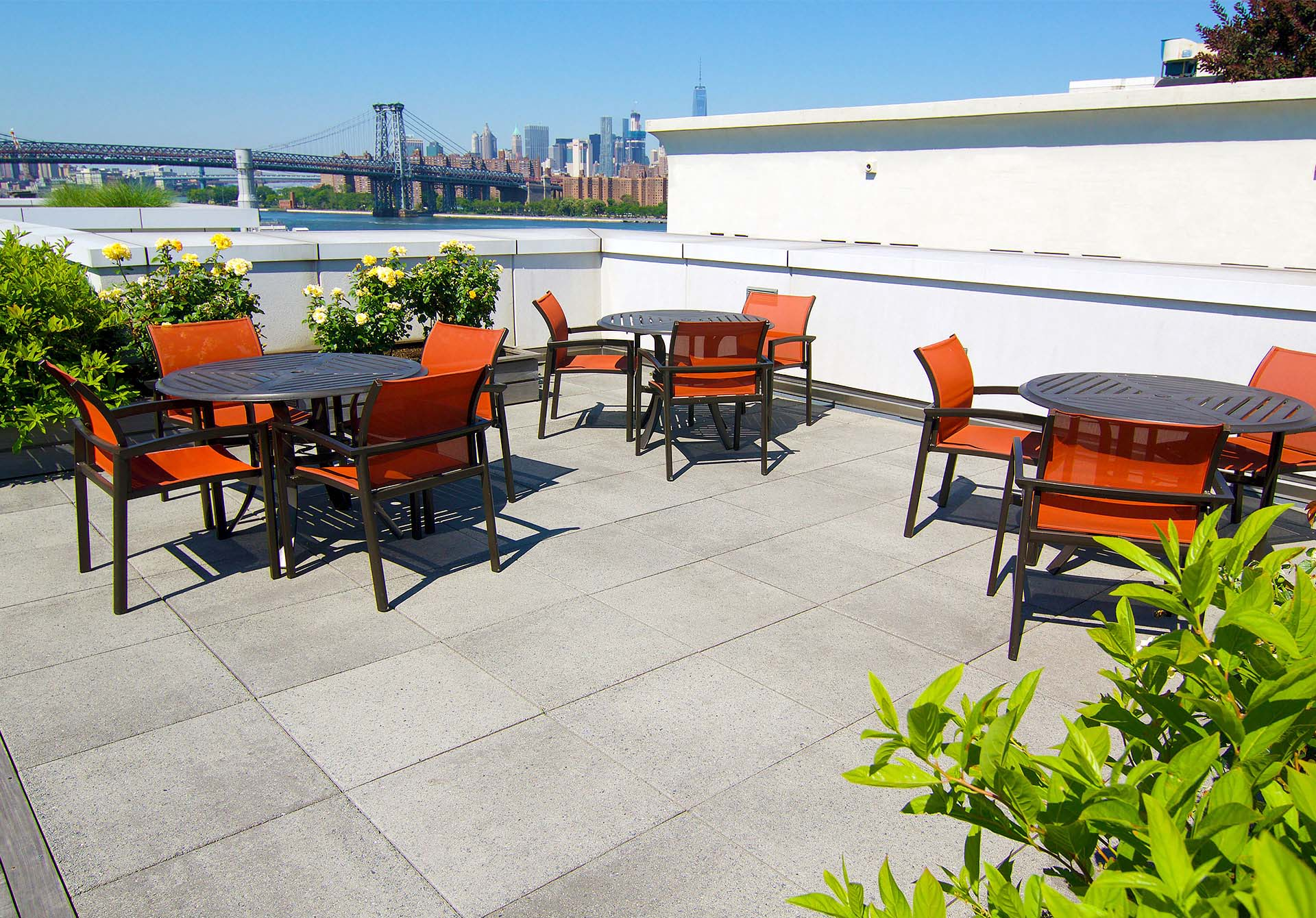 Commercial Roof Deck Pavers