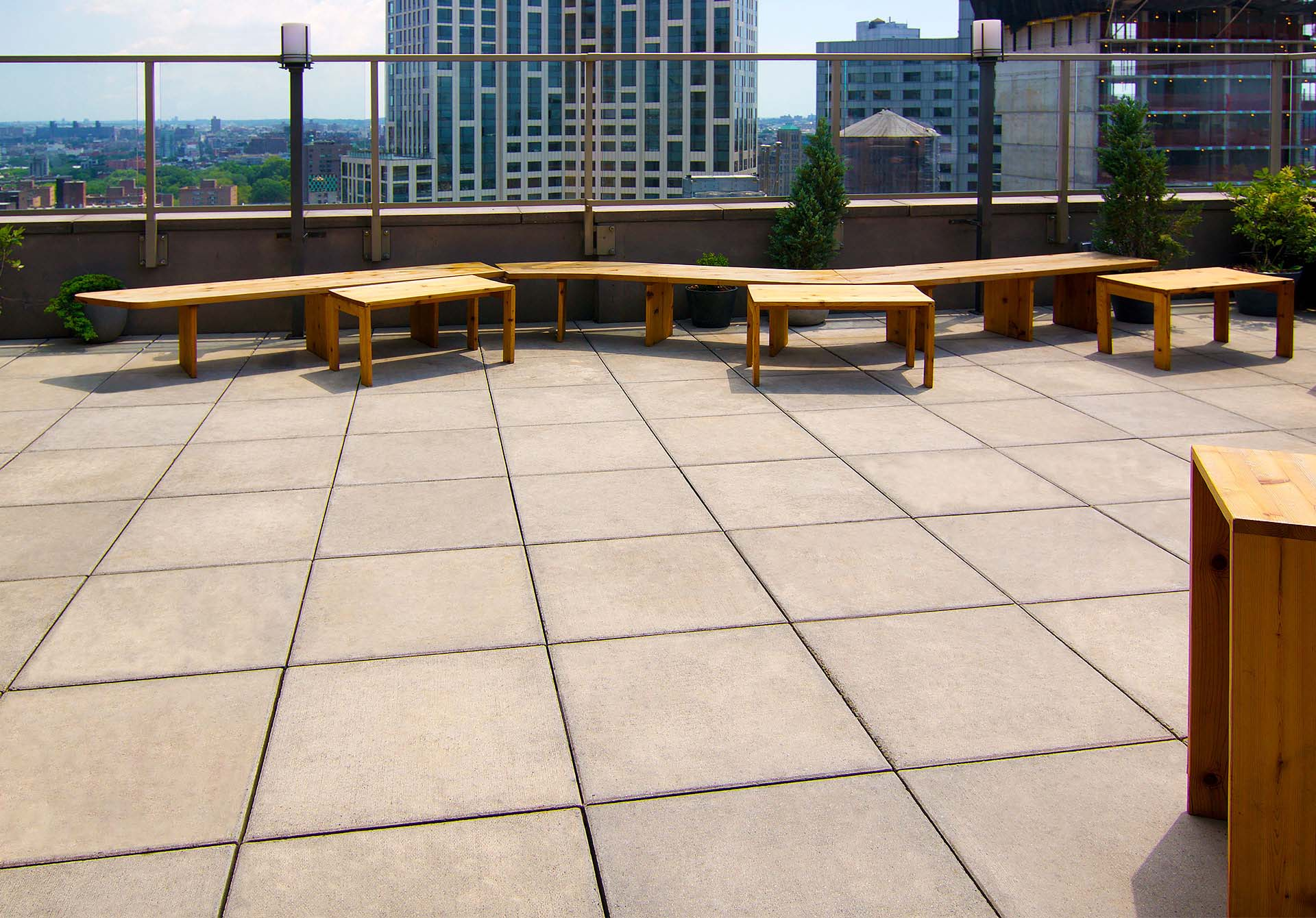 Commercial Deck Pavers