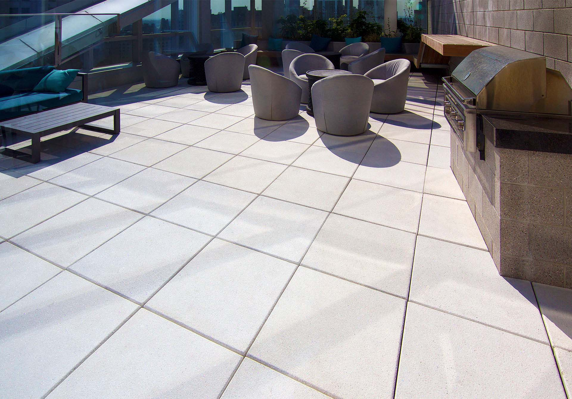 Commercial Architectural Patio Pavers
